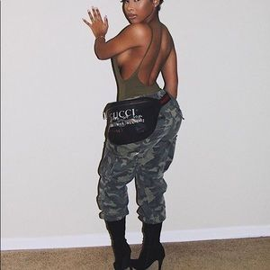 Pants - Cadet Kim Oversized Camo Pants - Camo